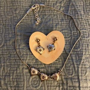 Brighton earrings and necklace set